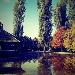 Photo taken at Seğmenler Parkı by Merve E. on 10/27/2012
