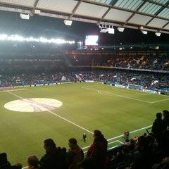 Photo taken at Stamford Bridge by Niccolò F. on 2/21/2013