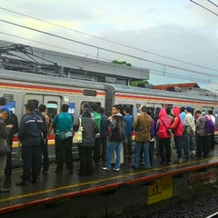 Photo taken at Stasiun Cilebut by Anne A. on 4/23/2015