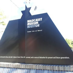 Photo taken at Holocaust Museum Houston by Magdalena T. on 2/1/2013