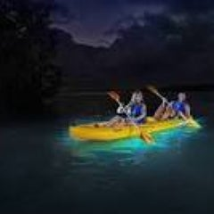 Photo taken at Bioluminescent Bay @ Fajardo by Joel G. on 8/8/2013
