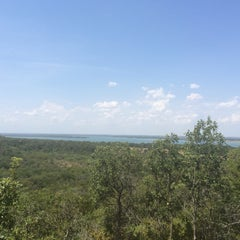 Photo taken at Cedar Ridge Preserve by Patricia on 8/16/2014