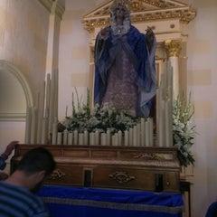 Photo taken at Parroquia de San Vicente Ferrer by Juan Francisco G. on 4/18/2014