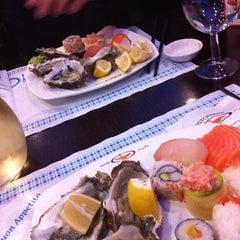 Photo taken at Wok Sushi by Giulia C. on 11/9/2012
