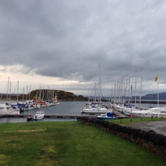 Photo taken at Craobh Marina by John B. on 10/7/2013