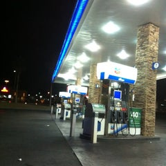 Photo taken at Chevron by Amanda W. on 10/21/2012