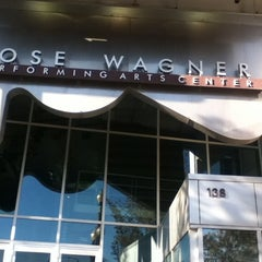 Photo taken at Rose Wagner Performing Arts Center by Alex G. on 10/6/2012