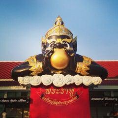 Photo taken at วัดสมานรัตนาราม (Wat Samanrattanaram) by Somyot K. on 1/19/2013