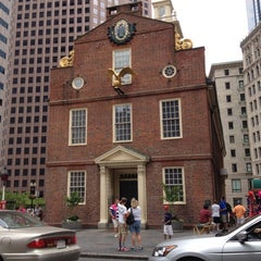 Photo taken at Old South Meeting House by Arshad S. on 7/14/2012