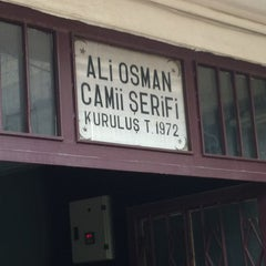Photo taken at Ali Osman Camii by Mert S. on 2/8/2013