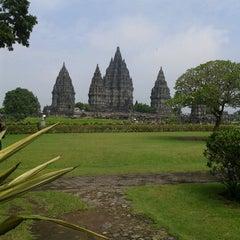 Photo taken at Candi Prambanan (Prambanan Temple) by Hany N. on 2/24/2013