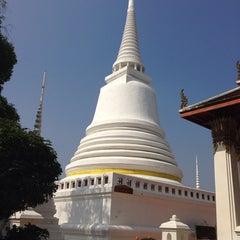 Photo taken at Suvarn Dararama Temple by Kaov P. on 12/23/2013