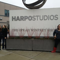 Photo taken at Harpo Studios by Roger M. on 3/11/2013