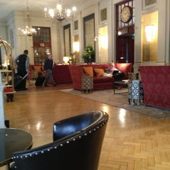 Photo taken at The Bloomsbury Hotel by Boaz T. on 6/11/2013