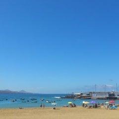 Photo taken at Playa Grande by Javier A. on 9/20/2012