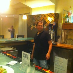 Photo taken at Lingo Bar & Cafe by Matt K. on 8/22/2013