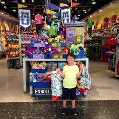 Photo taken at Disney Store by Claudia R. on 6/25/2013