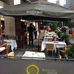 Photo taken at Boulud Sud by Brandon B. on 5/22/2013