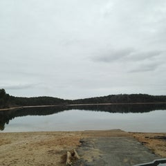 Photo taken at Cliff Pond by nicole D. on 1/15/2013