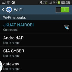 Photo taken at Jomo Kenyatta University of Agriculture & Technology  (JKUAT) Westlands Campus by Moreka D. on 1/26/2014
