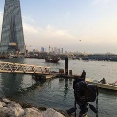 Photo taken at الاشاره المقابله لسوق السمك by Sanfora on 3/19/2014