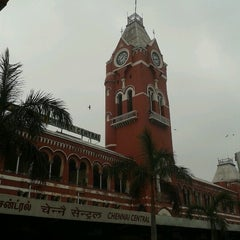 Photo taken at Chennai Central Sub Urban Station by Frank M. on 12/28/2012