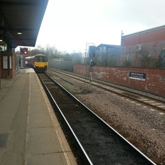 Photo taken at Salford Crescent Railway Station (SLD) by Emily H. on 4/27/2013