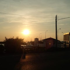 Photo taken at Margate Bridge by Brian E. on 8/30/2013