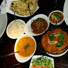 Photo taken at Asha's Contemporary Indian Cuisine by Bhav D. on 11/6/2014