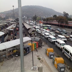 Photo taken at Metrobús  Indios Verdes by Karlopz C. on 11/16/2012