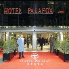 Photo taken at Hotel Palafox by Yuliana on 10/26/2012