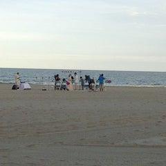 Photo taken at Java Beach Cafe by Masha B. on 9/21/2012