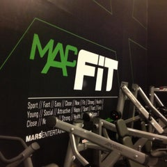 Photo taken at MACFit by Emre D. on 5/10/2013