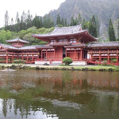 Photo taken at Byodo-In Temple by David V. on 11/15/2012