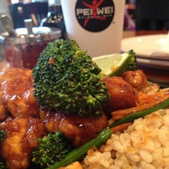 Photo taken at Pei Wei by Kerry C. on 3/23/2013