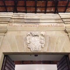 Photo taken at Museo Carmen Thyssen Málaga by Jesus P. on 11/24/2012