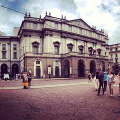 Photo taken at Teatro alla Scala by Marina L. on 5/5/2013