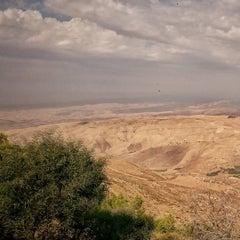 Photo taken at Mount Nebo جبل نيبو by Hakan D. on 10/27/2015