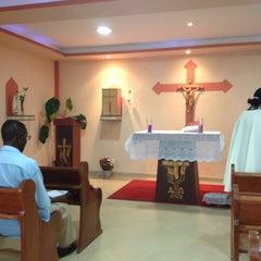 Photo taken at Igreja Católica Matriz São Miguel Arcanjo by Jaime L. on 3/26/2013