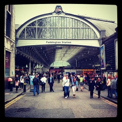 Photo taken at London Paddington Railway Station (PAD) by Christian H. on 6/20/2013
