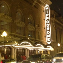 Photo taken at The Hippodrome / France-Merrick Performing Arts Center by Fellipe Z. on 2/14/2013