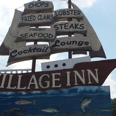 Photo taken at The  Village Inn by Rebecca T. on 8/28/2013