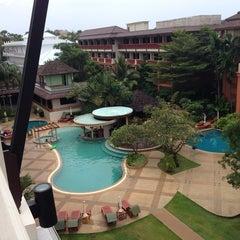 Photo taken at Kata Sea Breeze Resort by Marisha L. on 10/8/2013