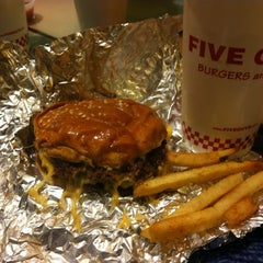 Photo taken at Five Guys by Faisal A. on 11/30/2012