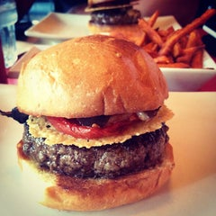 Photo taken at Umami Burger by Sola S. on 9/25/2012