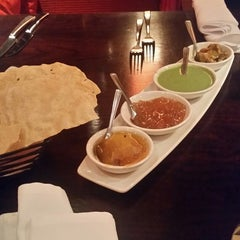 Photo taken at Asha's Contemporary Indian Cuisine by Sanjay M. on 11/15/2014