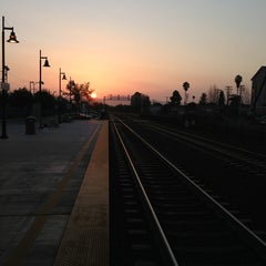 Photo taken at Hayward Park Caltrain Station by Craig L. on 3/23/2013