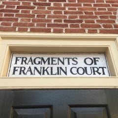 Photo taken at Franklin Court by Dylan E. on 7/9/2015