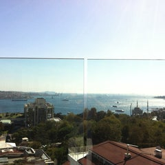 Photo taken at Hilton ParkSA Istanbul by Umit K. on 9/29/2012