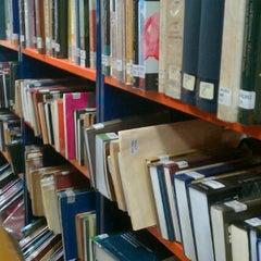 Photo taken at Biblioteca Central - PUCP by Katherine C. on 10/4/2012